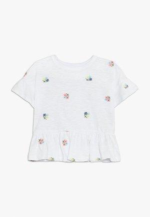 GIRLS  - Camiseta estampada - new off white