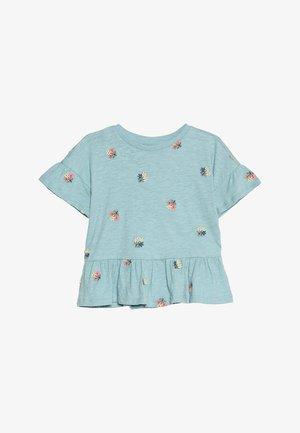 GIRLS  - T-Shirt print - island blue