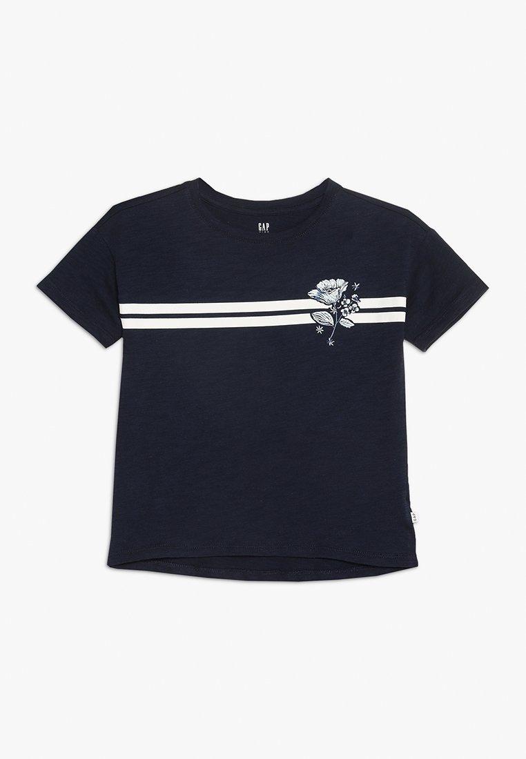 GAP - GIRLS HIT - T-shirts print - navy