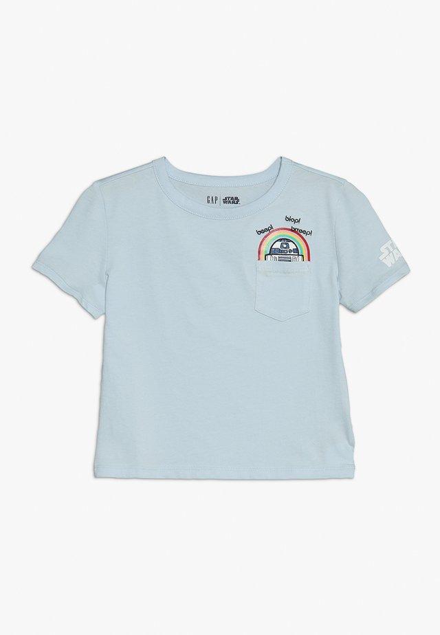 GIRLS - T-shirt imprimé - essential blue