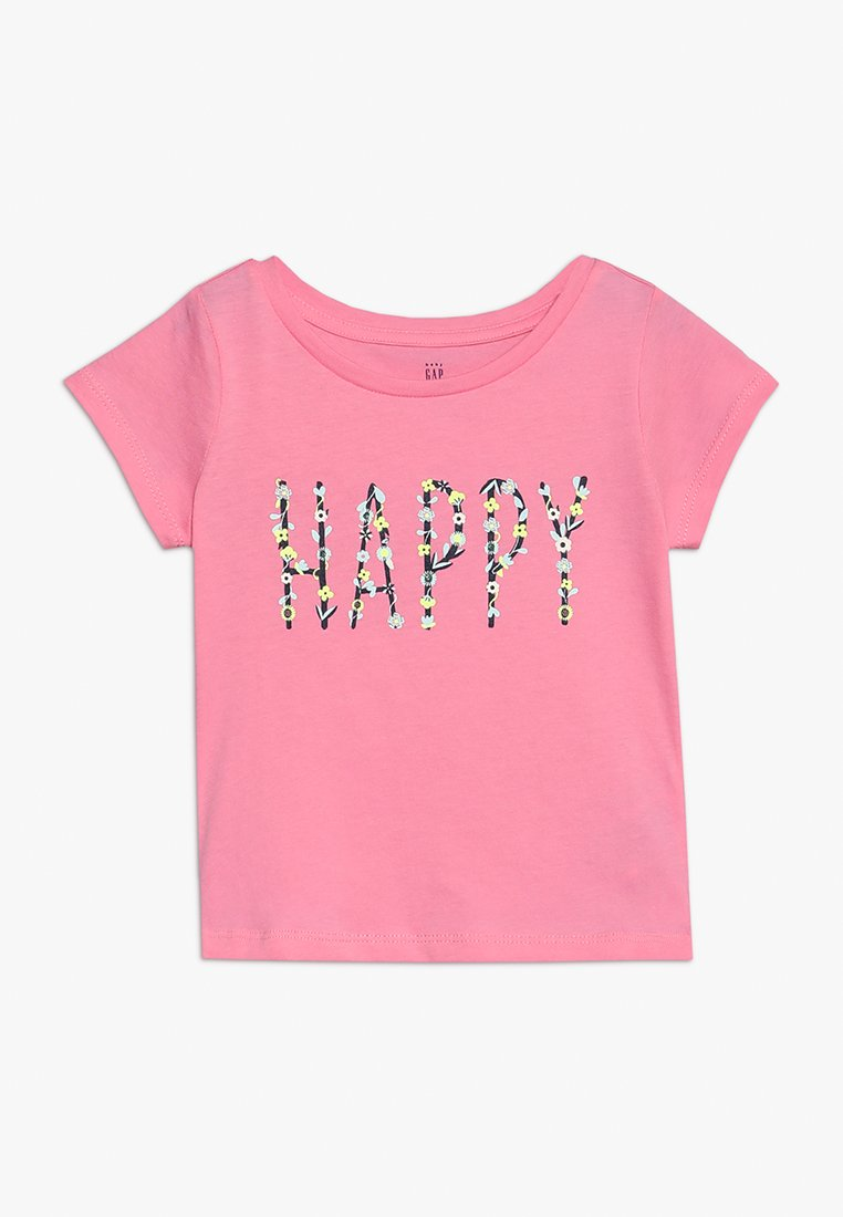 GAP - T-Shirt print - neon impulsive pink