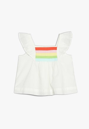 MULTI TANK BABY - Blouse - new off white