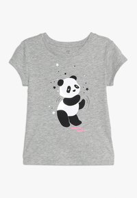 GAP - GIRL MAY - Print T-shirt - grey heather - 0