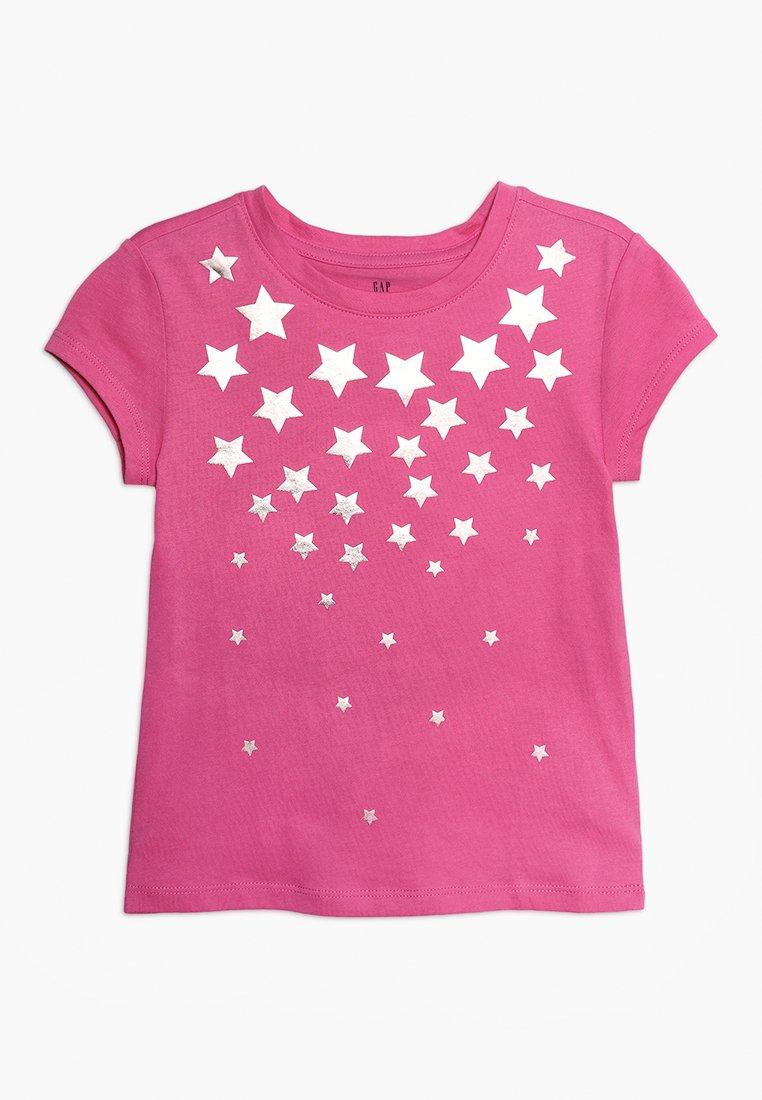 GAP - GIRL MAY - Camiseta estampada - pink azalea
