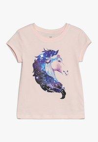 GAP - GIRL MAY - Print T-shirt - silk powder - 0