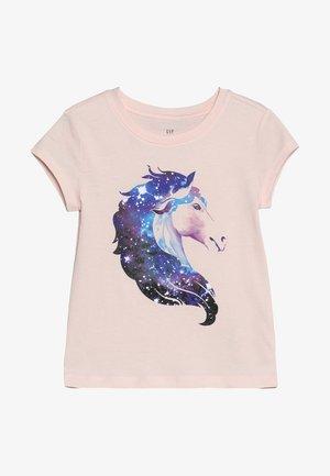 GIRL MAY - T-shirt print - silk powder