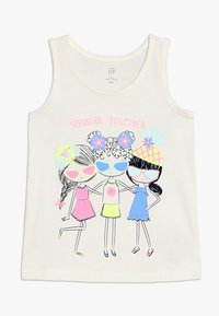 GAP - TODDLER GIRL TANK FLOW  - Top - off-white - 0