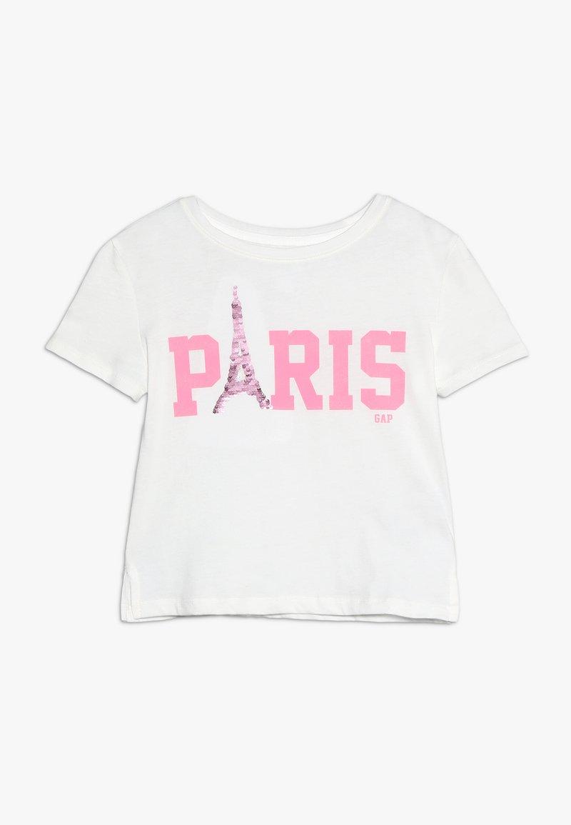 GAP - GIRLS CITY - Print T-shirt - new off white