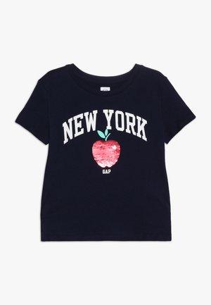 GIRLS CITY - Print T-shirt - navy uniform