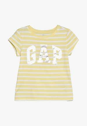 GIRLS LOGO - T-shirt print - creamy yellow