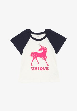 GIRLS - T-Shirt print - ivory frost