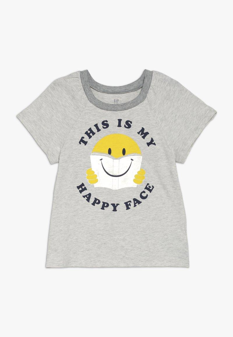 GAP - GIRLS - Print T-shirt - grey heather