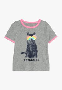 GAP - GIRLS JUNE PRIDE - Triko s potiskem - grey heather - 0
