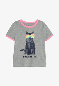 GAP - GIRLS JUNE PRIDE - Triko s potiskem - grey heather - 2