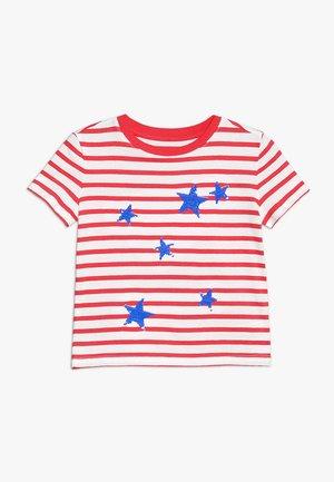 GIRLS TEE - Print T-shirt - red tulip
