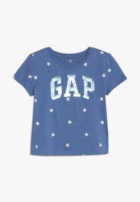 GAP - GIRLS - Print T-shirt - blue nova - 0
