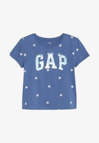 GAP - GIRLS - Print T-shirt - blue nova - 2