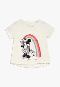 GAP - TODDLER GIRL  - T-shirt imprimé - ivory frost - 0