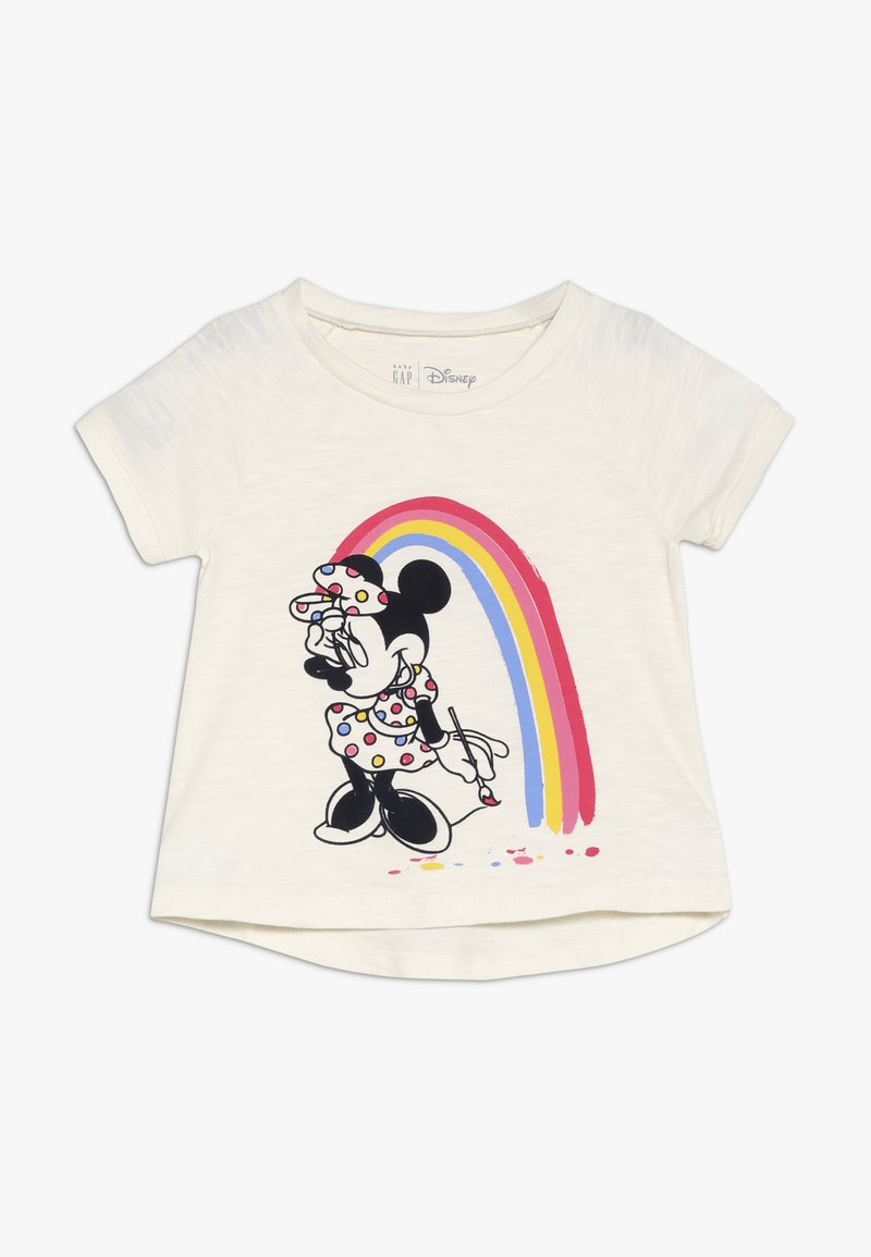 GAP - TODDLER GIRL  - T-shirt imprimé - ivory frost
