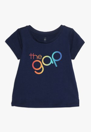 TODDLER GIRL BUBBLE ARCH TEE - T-shirt imprimé - elysian blue