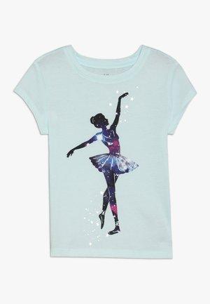 GIRL - Print T-shirt - glass of water