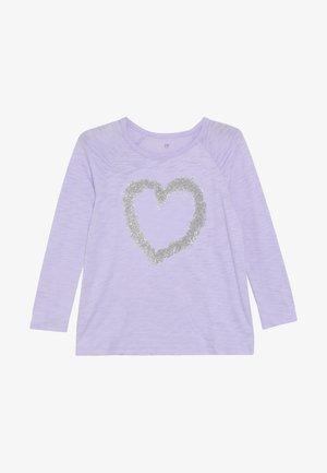 GIRL  - Top sdlouhým rukávem - purple lotus