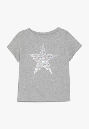 GIRL - T-shirt print - grey heather