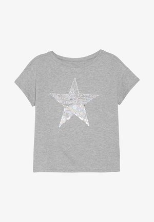GIRL - T-shirt con stampa - grey heather