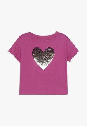 GIRL - Camiseta estampada - standout pink