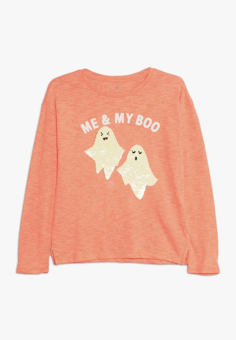 GAP - GIRL  - T-shirt à manches longues - neon coral