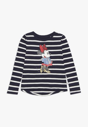 MINNIE MOUSE GIRL - Top s dlouhým rukávem - navy