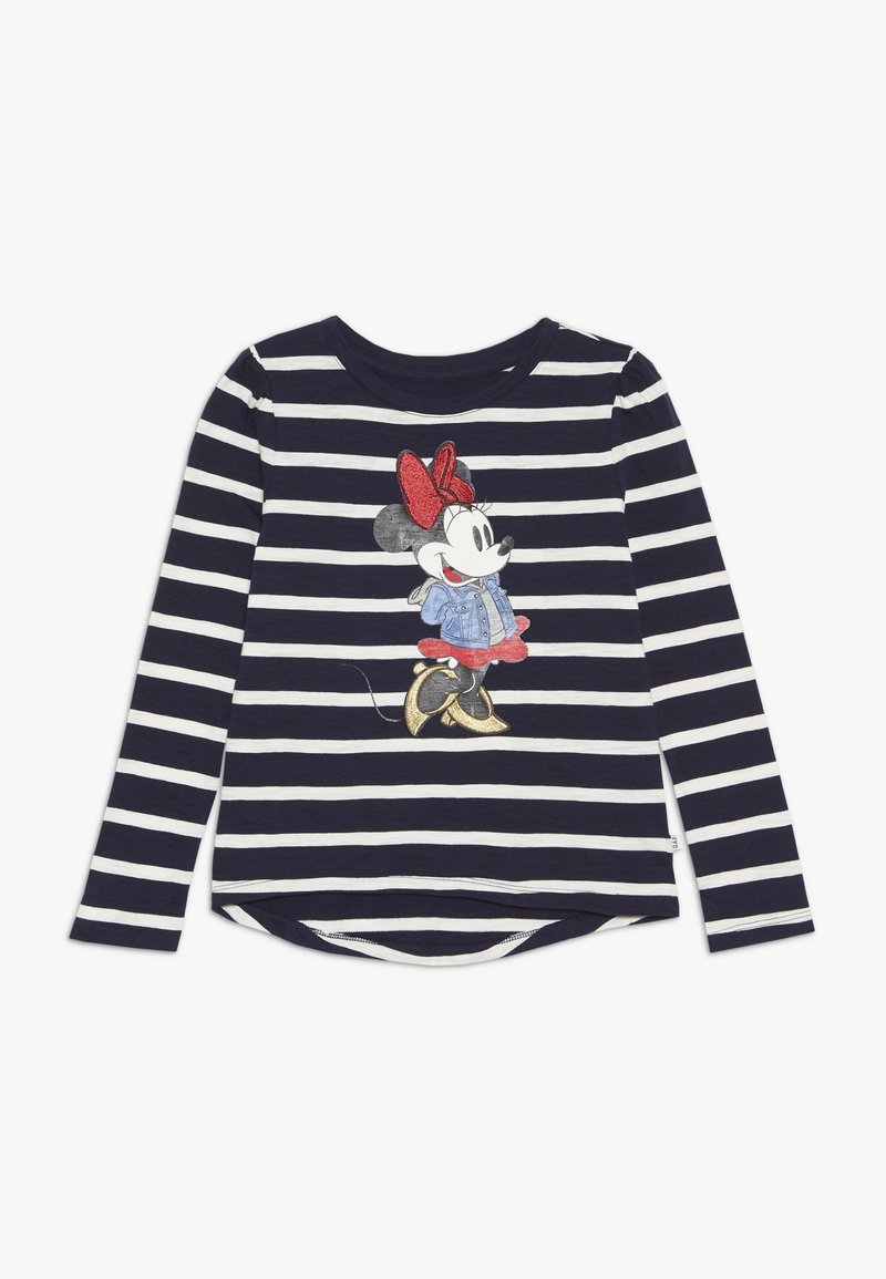 GAP - MINNIE MOUSE GIRL - Long sleeved top - navy
