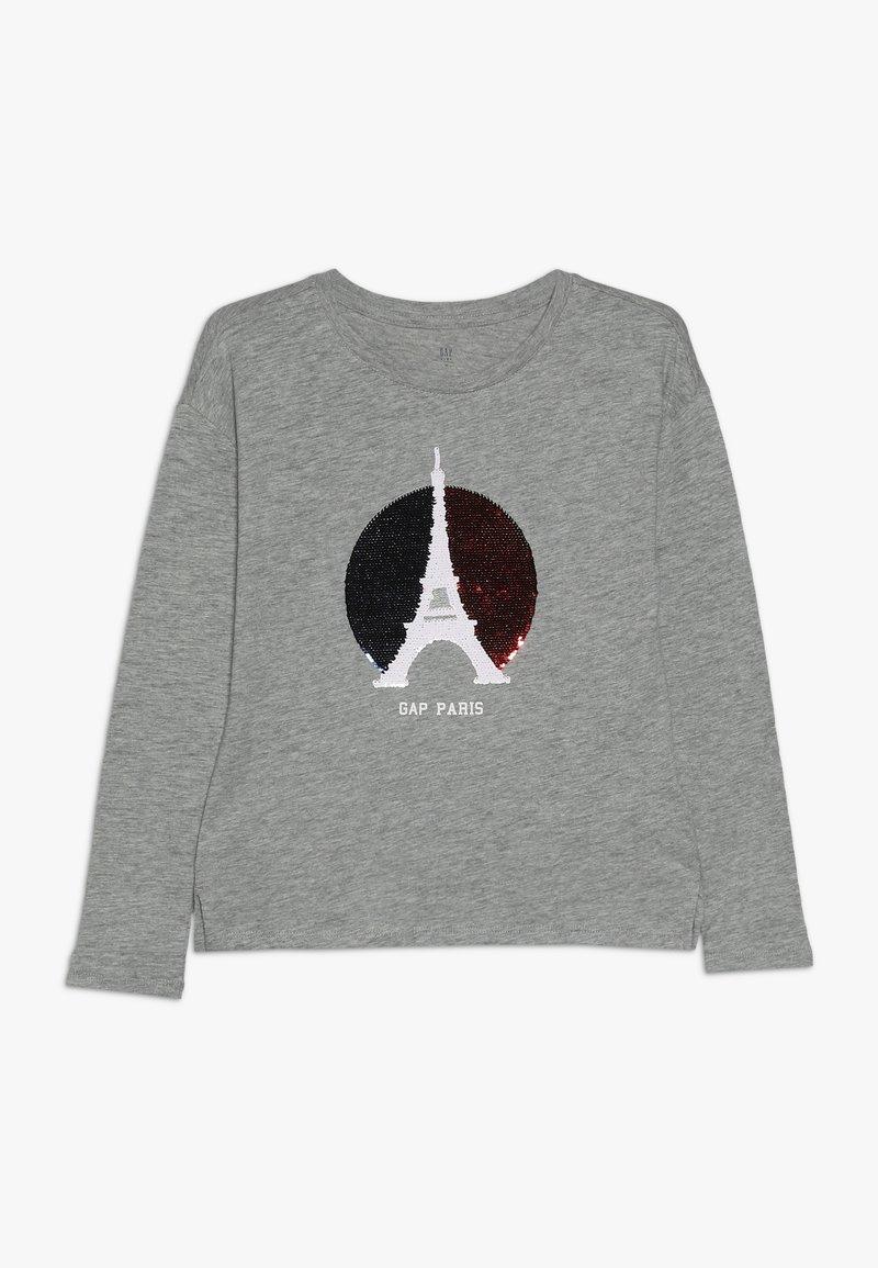 GAP - GIRL CITY  - Long sleeved top - grey heather
