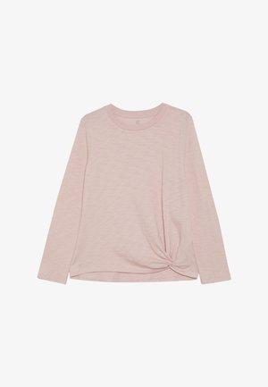GIRL STEP HEM - Top sdlouhým rukávem - pink standard