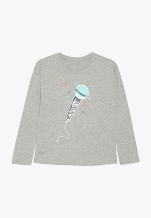 GIRL - Long sleeved top - grey heather