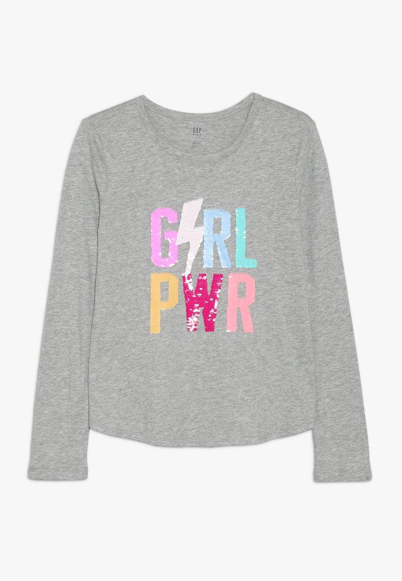 GAP - GIRL  - Langarmshirt - grey heather