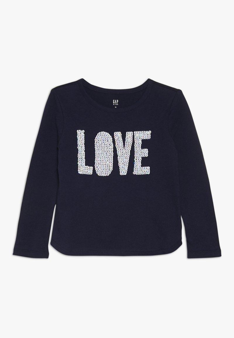 GAP - GIRL - Langærmede T-shirts - navy uniform