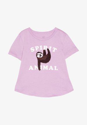 GIRL - T-shirt imprimé - purple