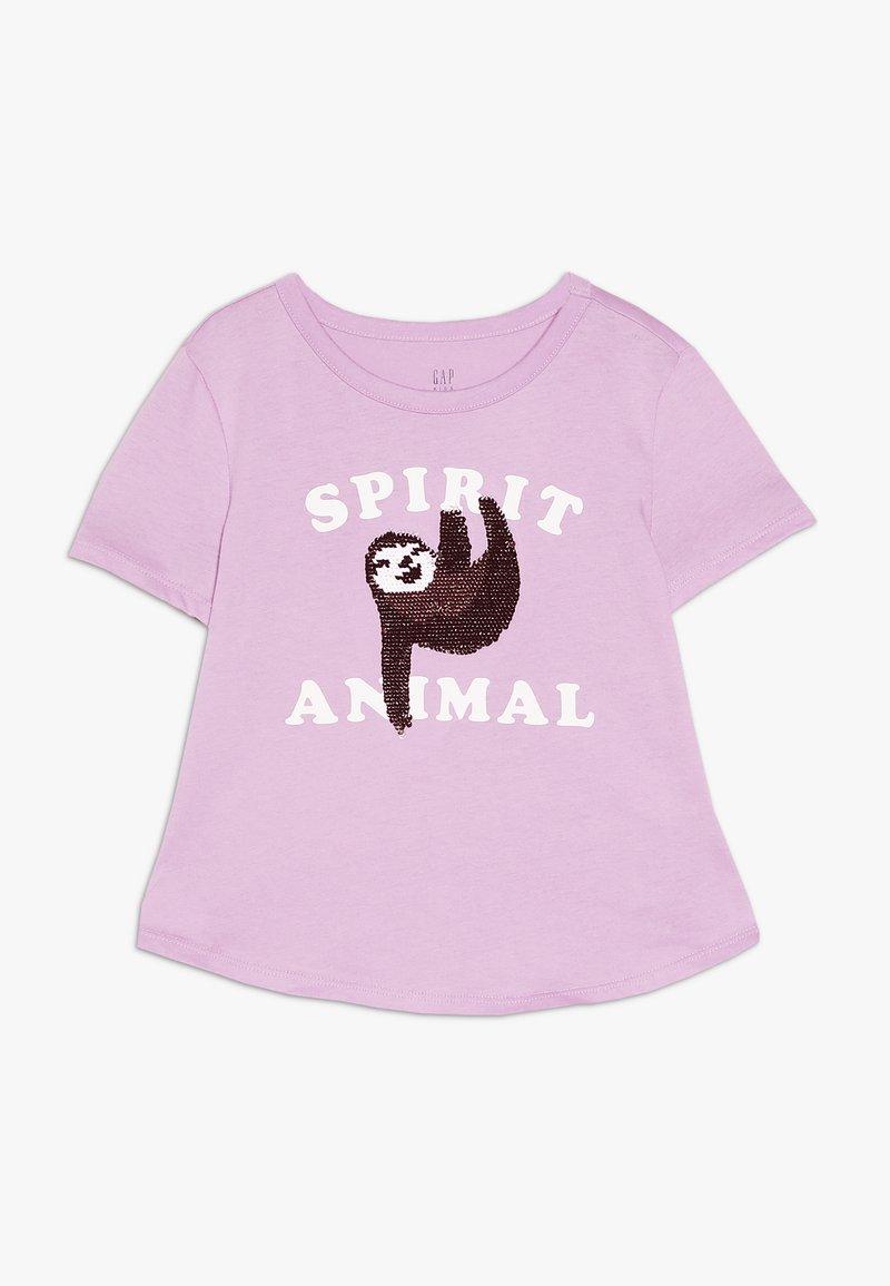 GAP - GIRL - T-shirt med print - purple