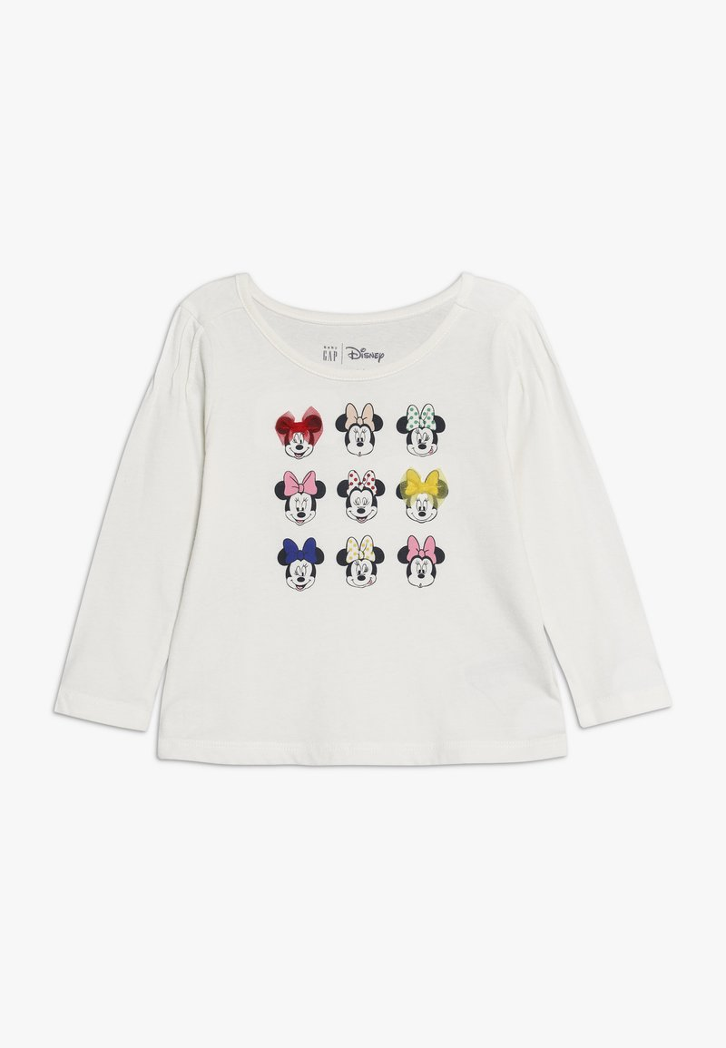 GAP - MINNIE MOUSE TODDLER GIRL  - T-shirt à manches longues - ivory frost