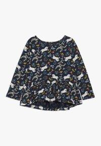 GAP - TODDLER GIRL - Camiseta de manga larga - dark blue - 0
