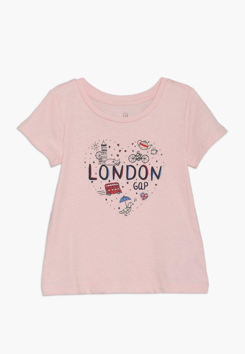 GAP - TODDLER GIRL  - T-shirts print - pink
