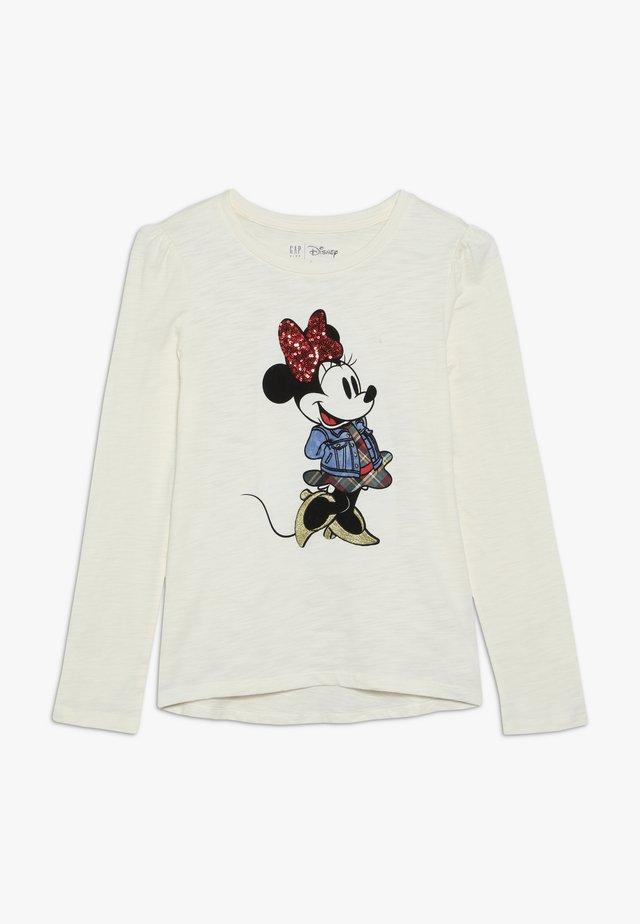 GIRL - Pitkähihainen paita - ivory frost