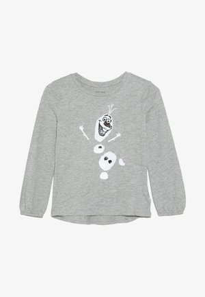 GIRL FROZEN - T-shirt à manches longues - grey heather