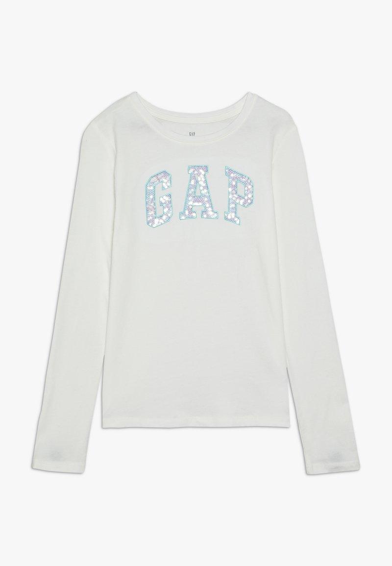 GAP - GIRL LOGO - Long sleeved top - new off white
