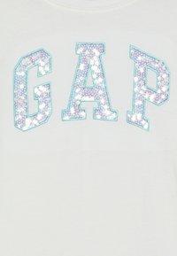 GAP - GIRL LOGO - Long sleeved top - new off white - 4