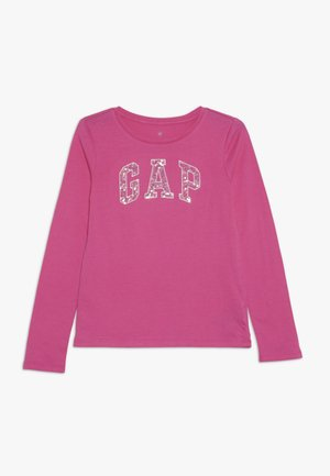 GIRL LOGO - Long sleeved top - devi pink