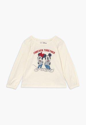 TODDLER GIRL LOVE - Top sdlouhým rukávem - ivory frost