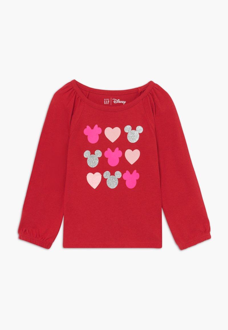 GAP - TODDLER GIRL LOVE - Maglietta a manica lunga - modern red
