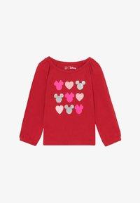 GAP - TODDLER GIRL LOVE - Maglietta a manica lunga - modern red - 2